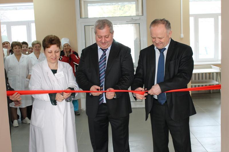 Завершен ремонт детской поликлиники