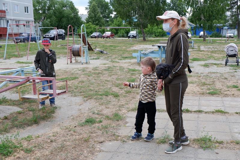 В Метлино появится новая детская площадка