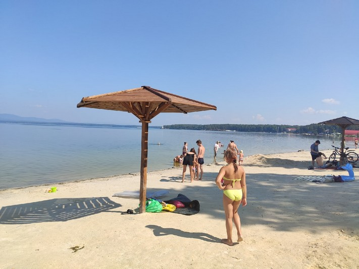 Благоустройство пляжа «Дальний» подошло к завершению