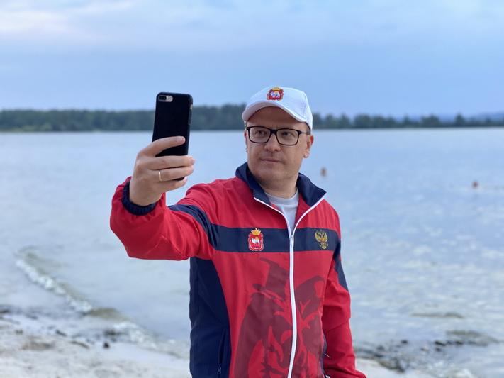 Губернатор и глава округа совершили велопрогулку по Озерску