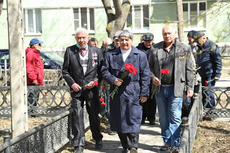 Ветераны почтили память ушедших товарищей