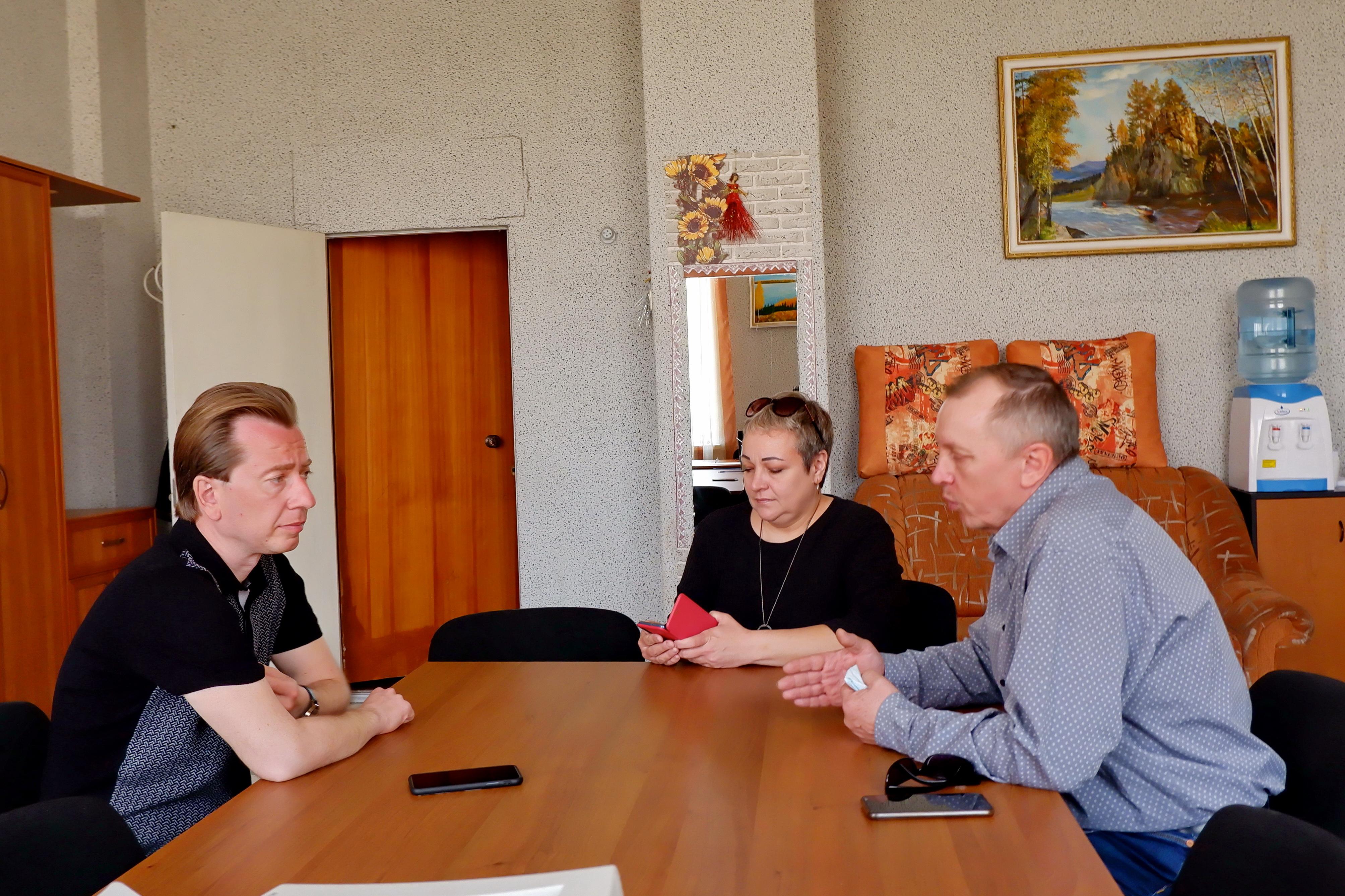 Озерск посетил Владимир Бурматов