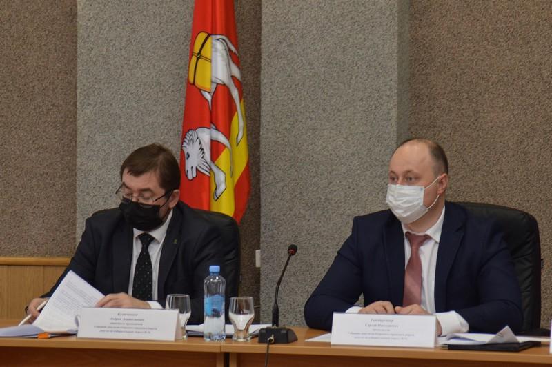 Как отработали в 2020 году: глава округа отчитался перед депутатами