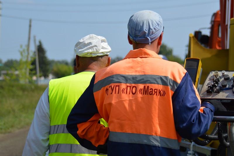 «Маяк» вновь поможет Озерску в ремонте дорог