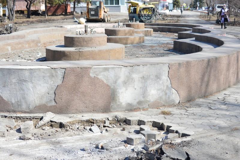 На проспекте Карла Маркса начат новый этап реконструкции