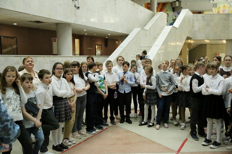 Младшие школьники в Озерске изучают православные традиции