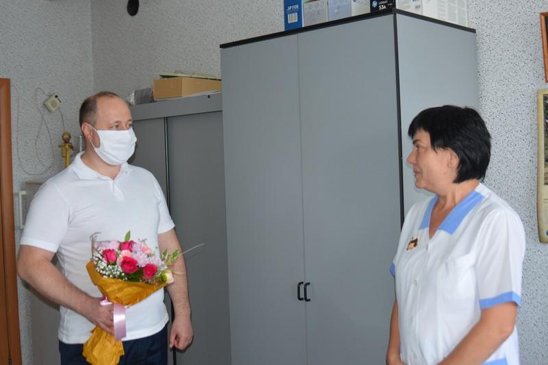 Выразили уважение и признательность тем, кто стоит на страже здоровья людей