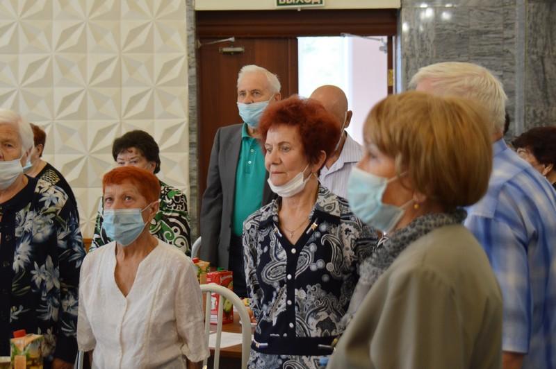 В ДК «Строитель» прошла встреча общественной организации «Память сердца»