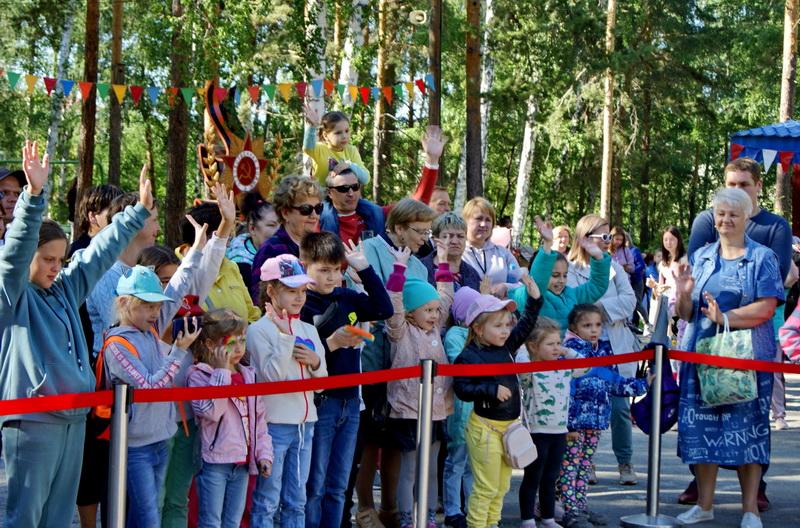 День защиты детей в Озерске прошел весело и ярко