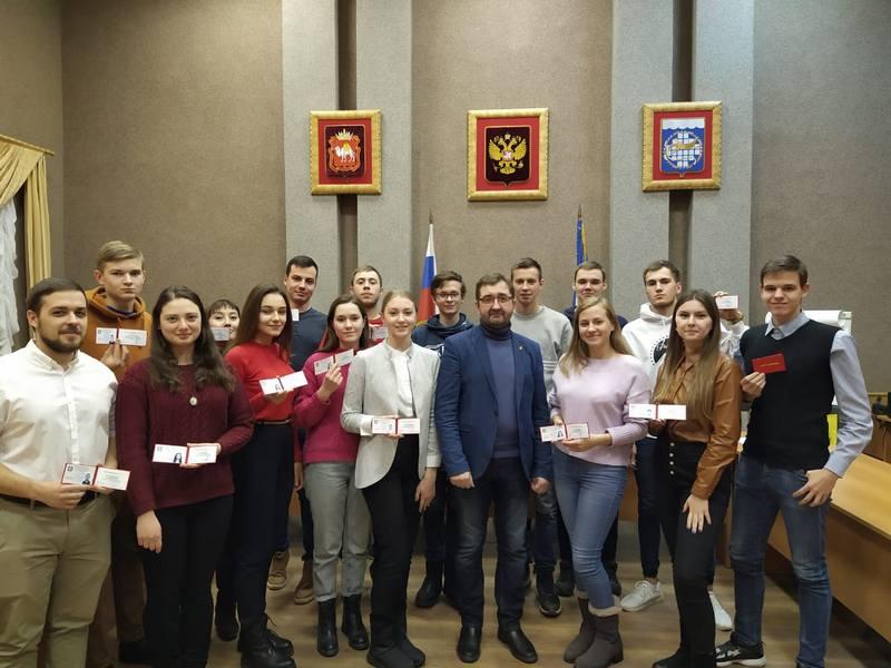 Общественной молодежной палате Озерска – 15 лет