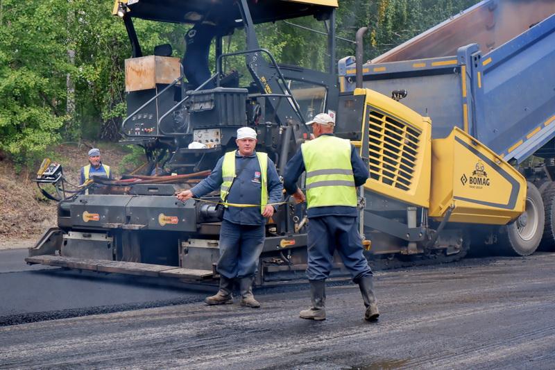 Евгений Щербаков: «В округе идёт системная работа по ремонту дорог»