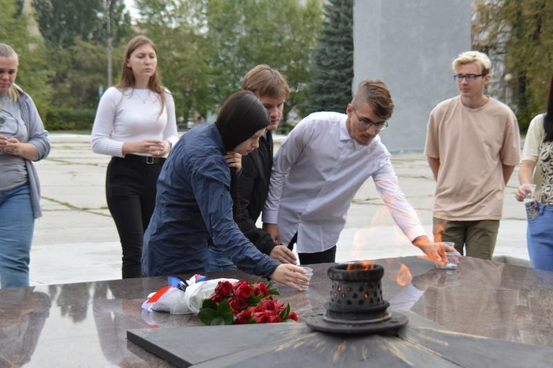 В Озерске почтили память жертв теракта в Беслане