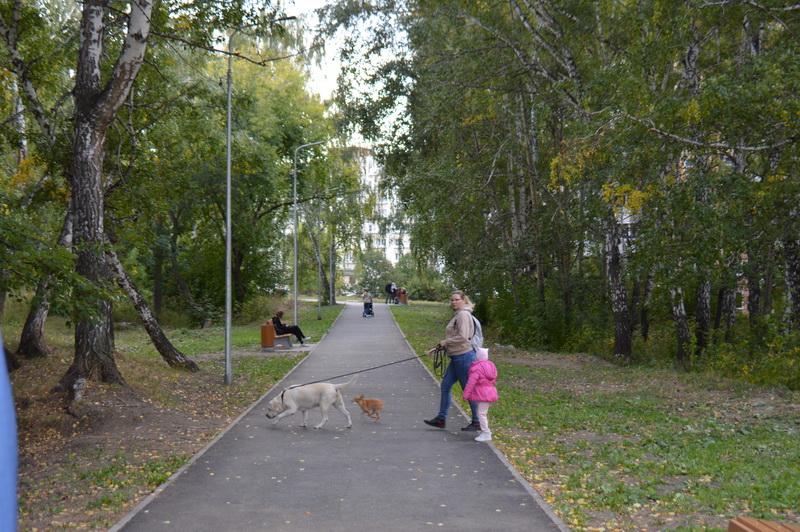 В Озерске завершено благоустройство прогулочной зоны