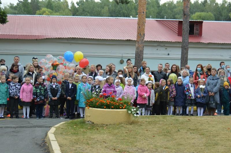 В Озерске прозвенели первые звонки нового учебного года