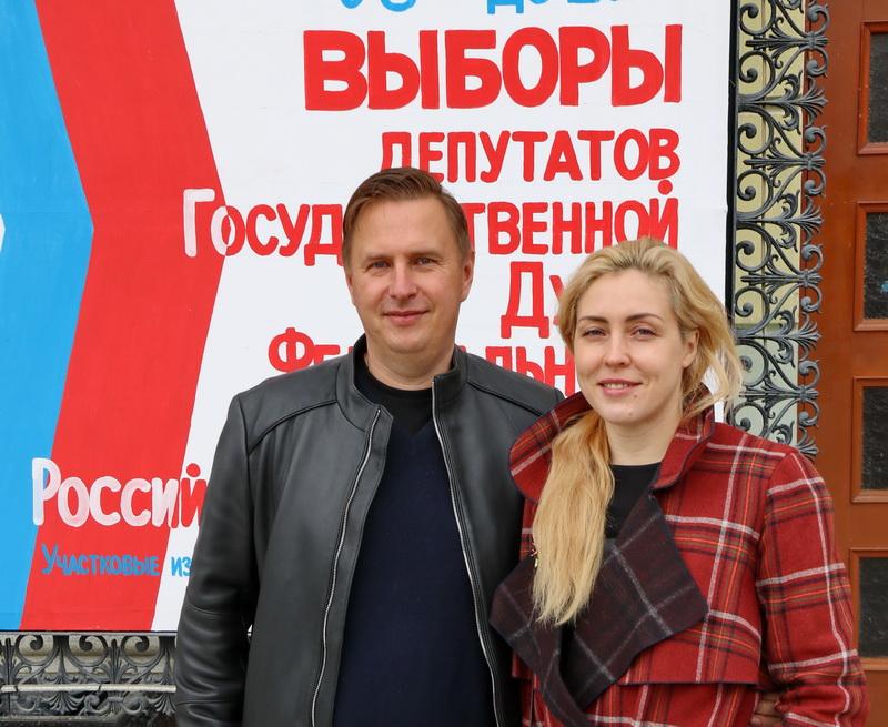 Руководители муниципалитета проголосовали на выборах депутатов Государственной Думы