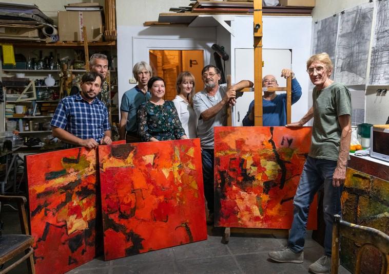 Три дня в Озерске проходил симпозиум по живописи «Артлокация. Образ атомных городов»