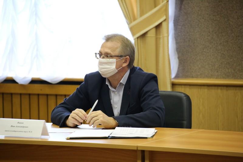 Состоялась завершающая сессия Собрания депутатов Озерского городского округа пятого созыва