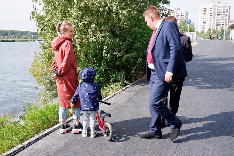 Приемка набережной Гайдара проходит совместно с общественностью