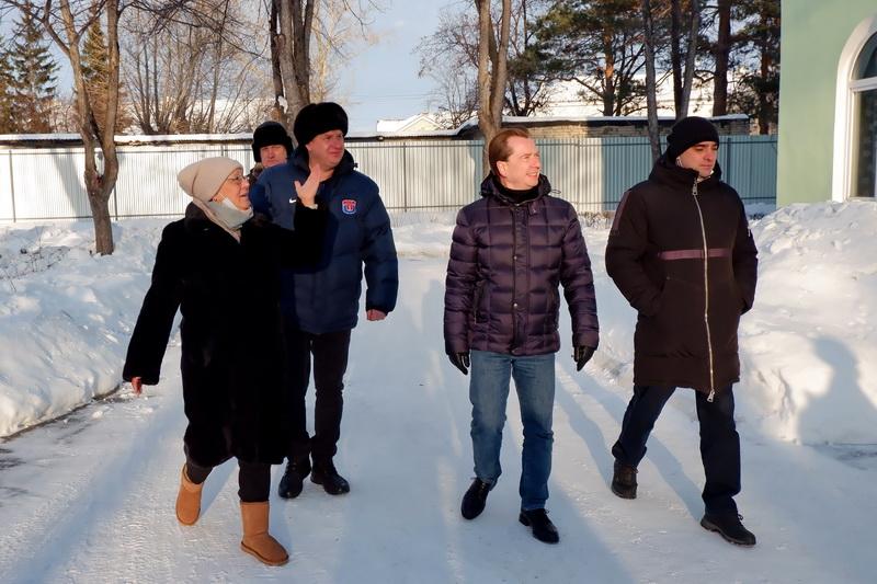 Озерск посетил депутат Государственной Думы Владимир Бурматов