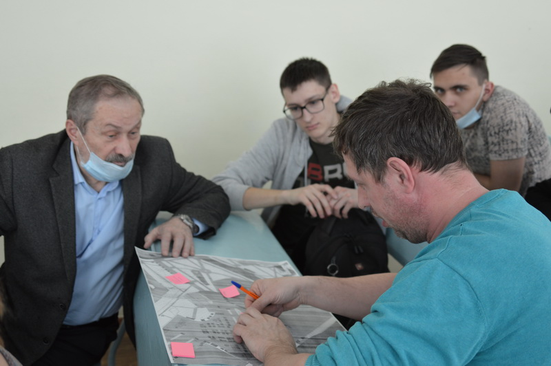 Озерские студенты участвуют в обсуждениях проектов благоустройства