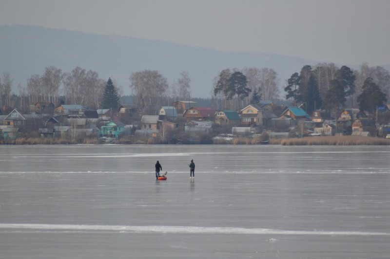 Спасатели предупреждают: «Осторожно, тонкий лед!»