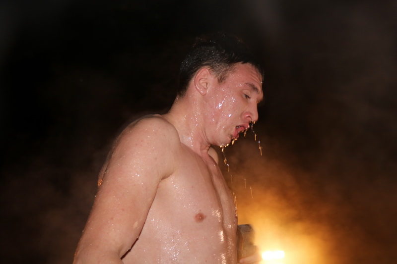 Крещение прошло в светлой атмосфере