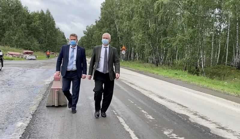 Ремонт трассы Озерск-Метлино продолжается по графику