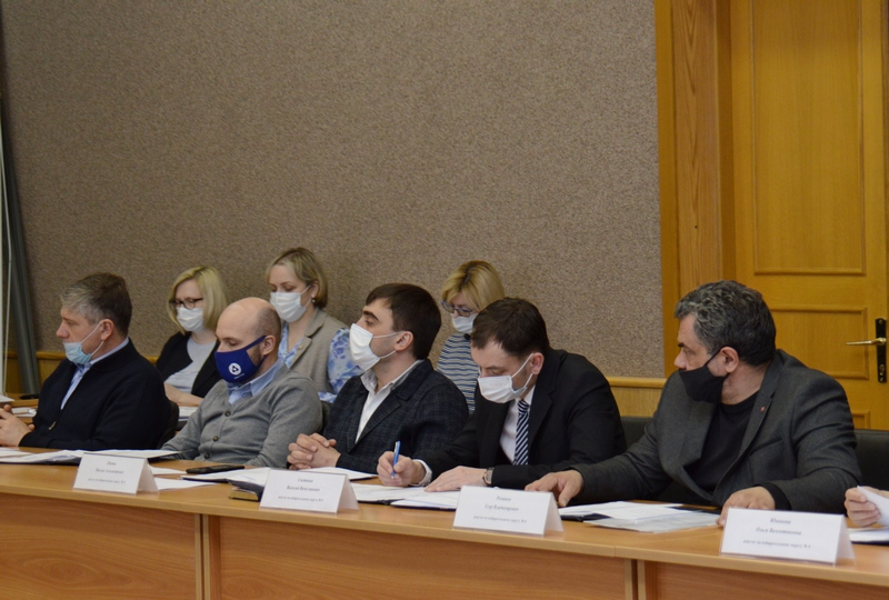 25 марта состоялось рабочее заседание Собрания депутатов