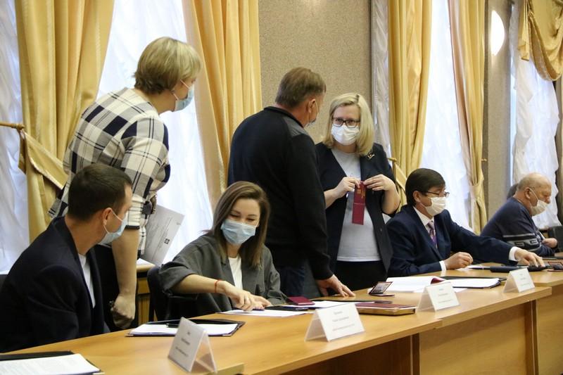 Состоялось плановое заседание Собрания депутатов