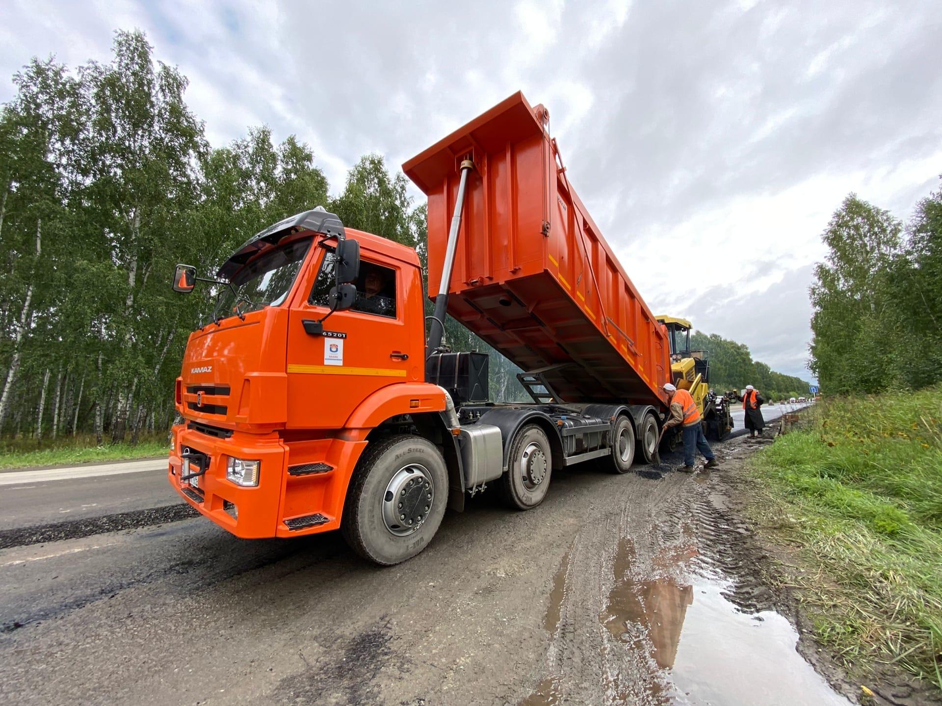 Ремонт дорог в Озерске: были реализованы масштабные проекты